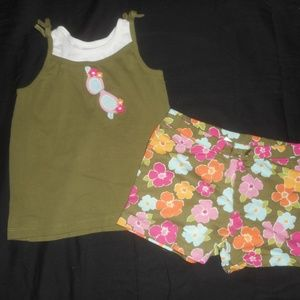 Gymboree Shorts Outfit